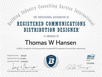 K S Telecom Inc Certifications Amp Credentials